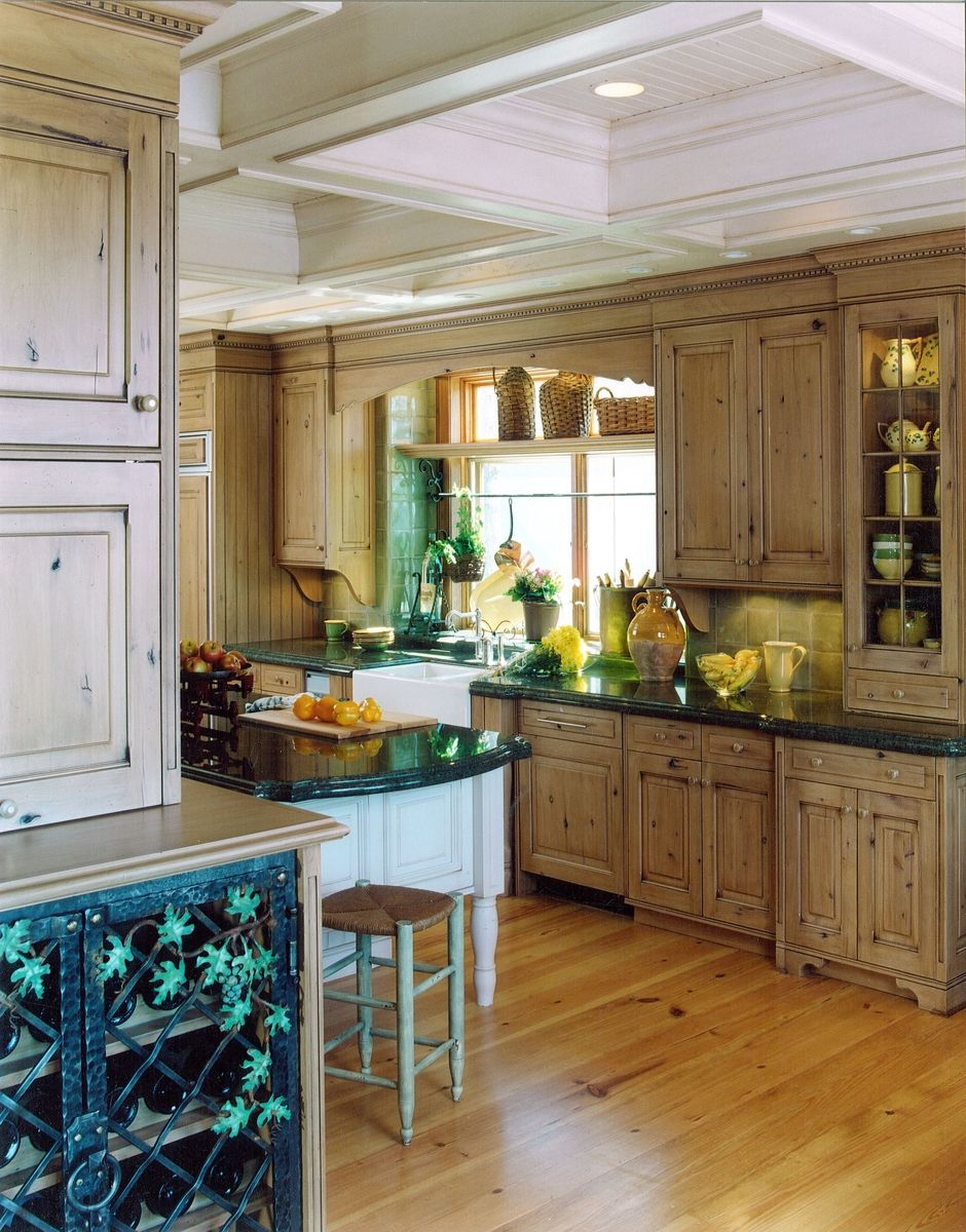 Handmade old country kitchen by cabinets design iron llc for Old country kitchen designs