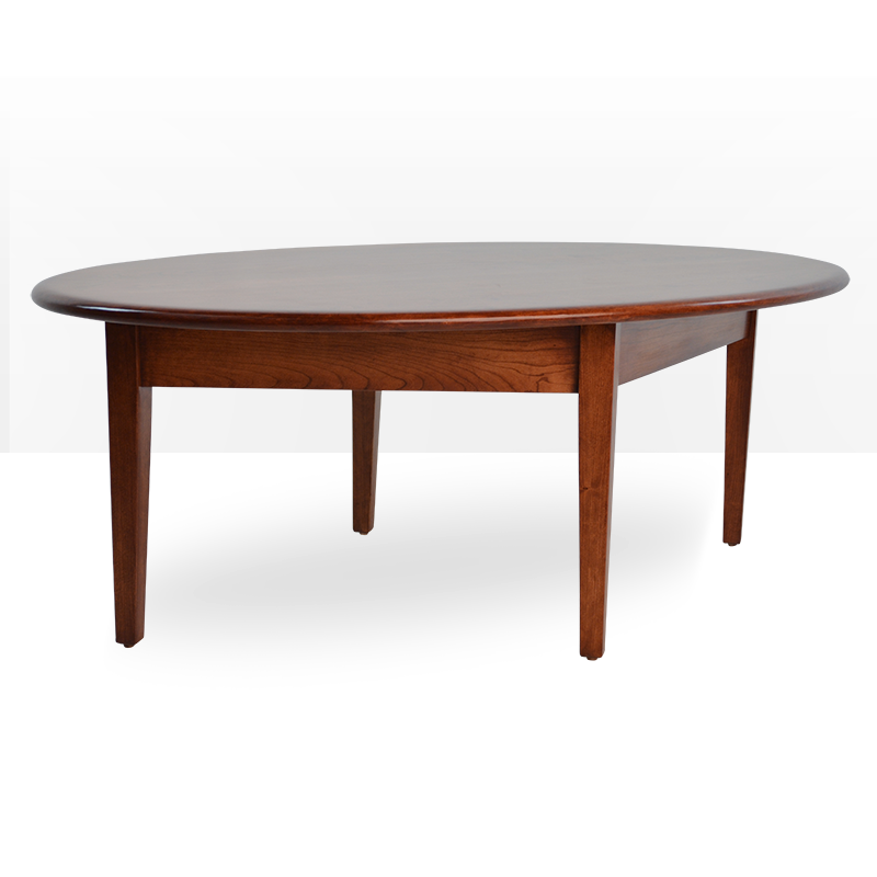 Buy A Custom Modern Cherry Coffee Table, Tapered Legs