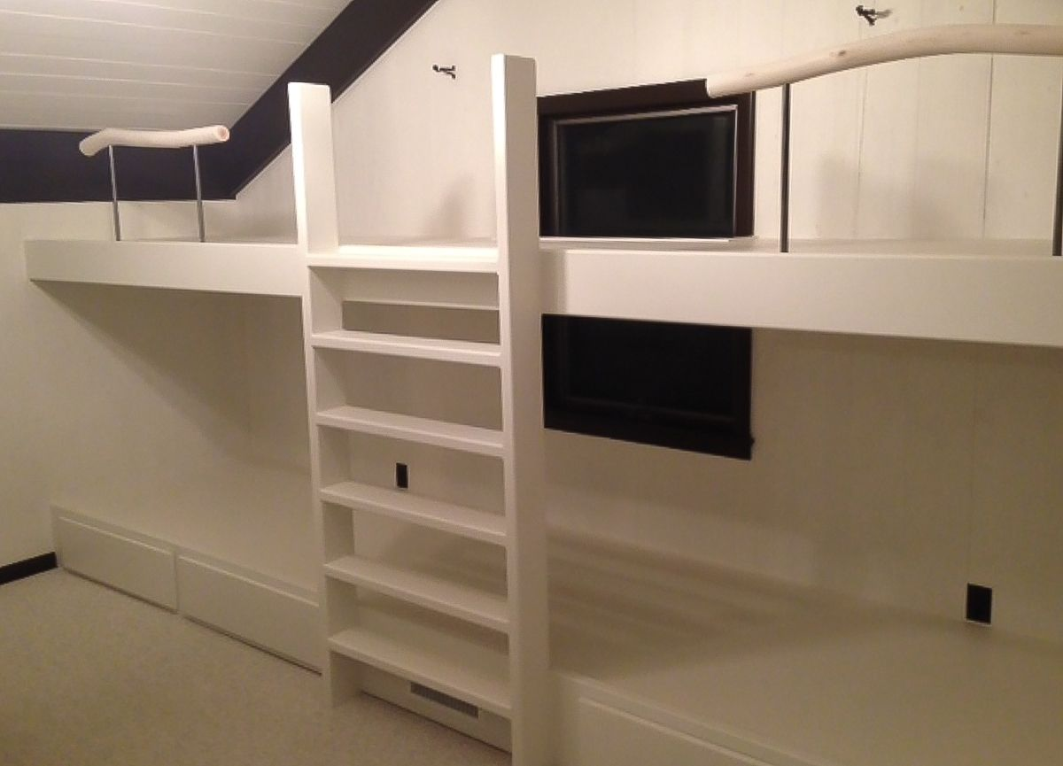 Custom Modern Bunk Beds By Greene Pepper Woodworking