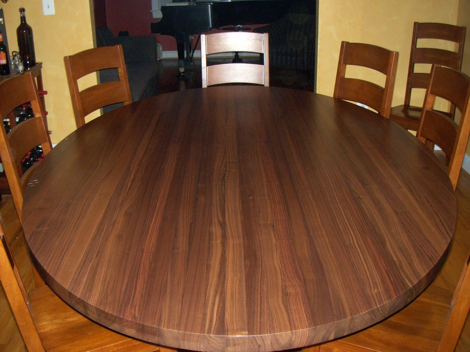 Custom Solid Walnut Table Top By Awp Butcher Block