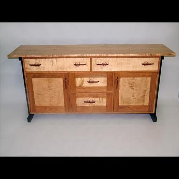 Custom Made Arts And Craft Sideboard