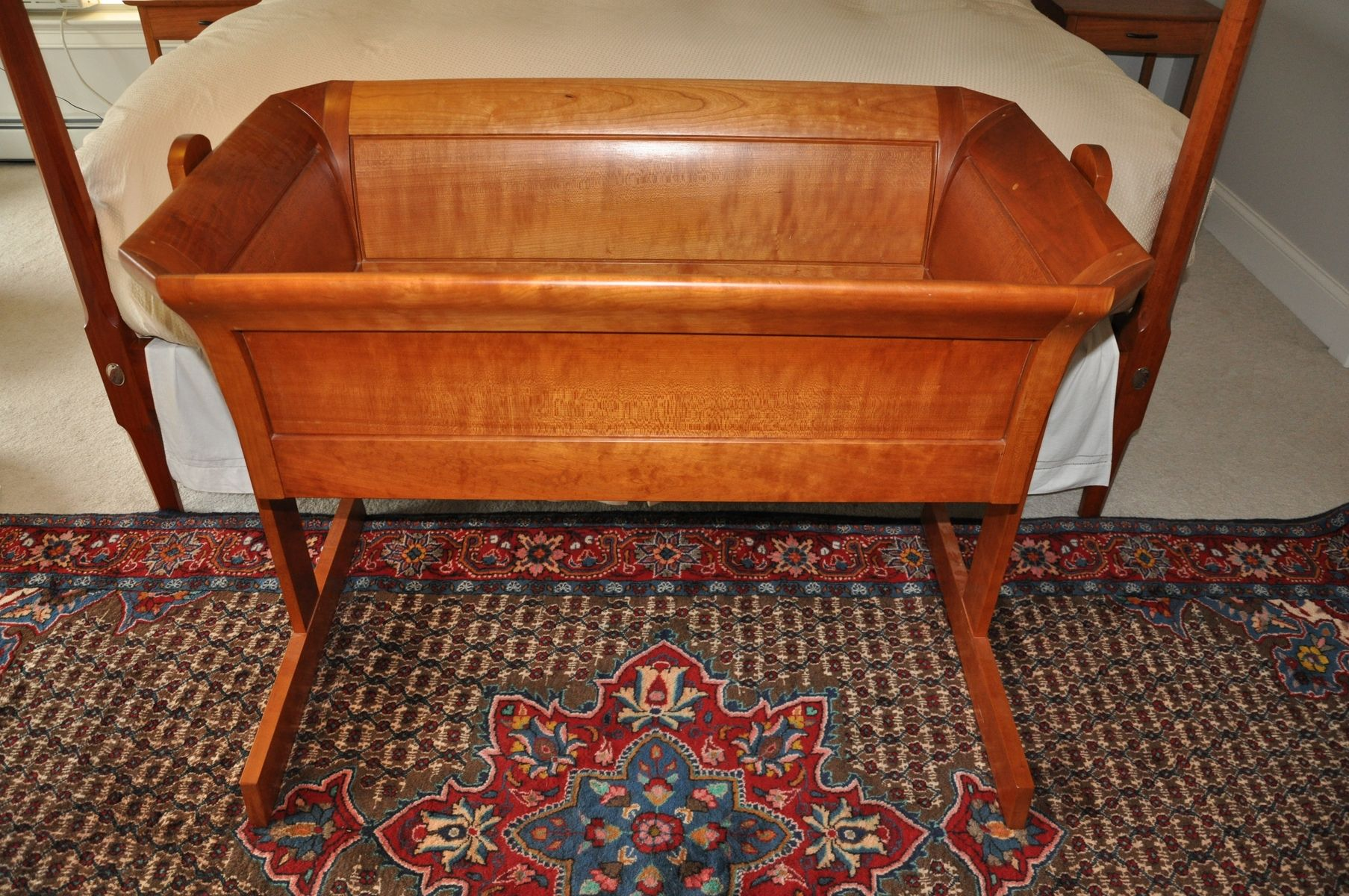 Hand Made Heirloom Cradle By Paul Mullen Fine Woodworking