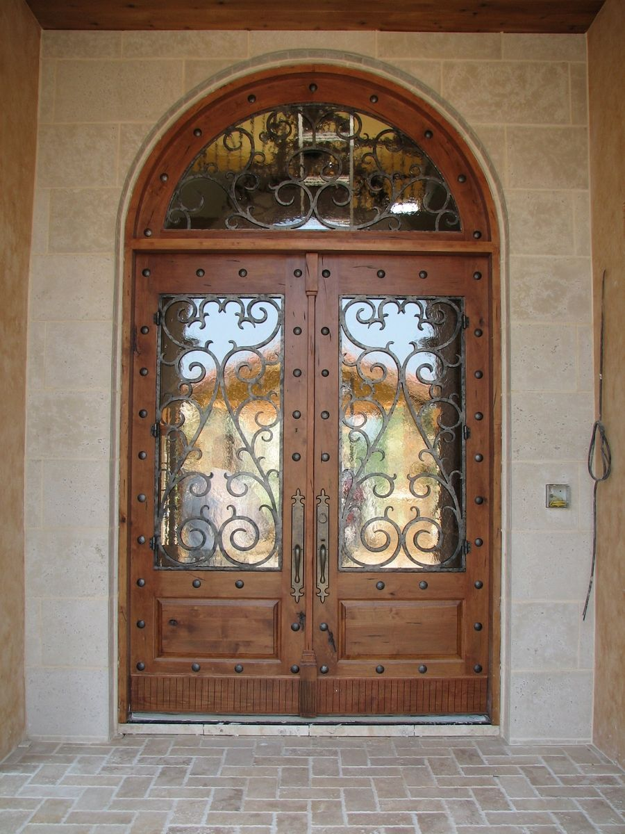 Hand Made Knotty Alder Door By The Looking Glass