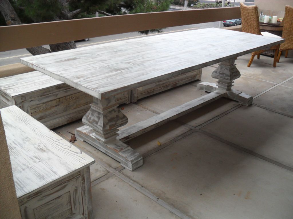 Custom Made Table From Reclaimed Wood