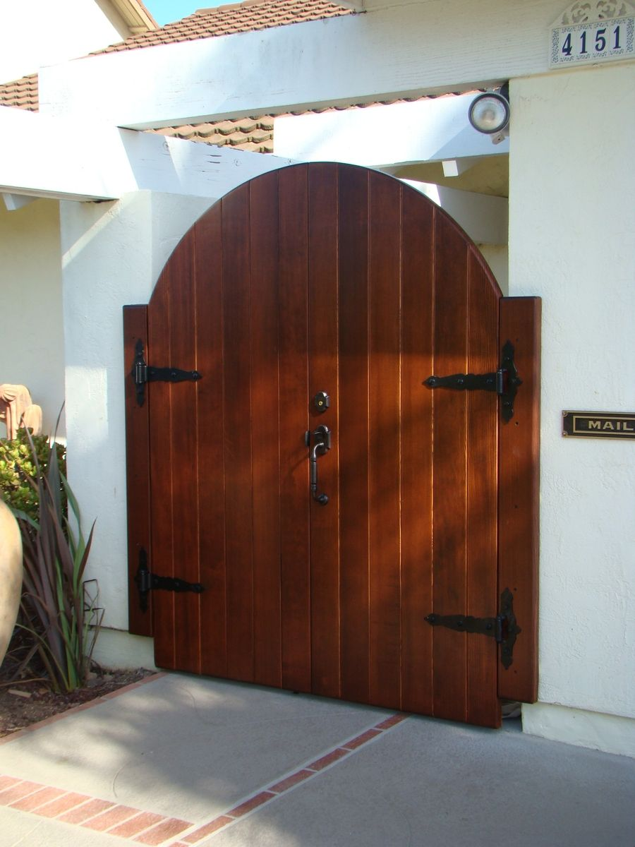 Custom Made Entry Gate By Kevin White Designs