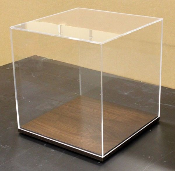 Acrylic Boxes Custom Made : Hand crafted acrylic display boxes by dorch design studio