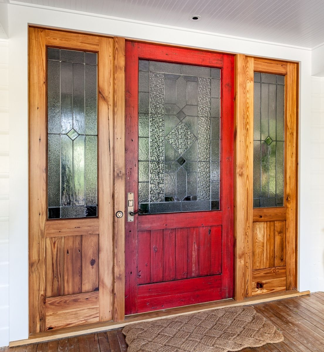 Hand Made Custom Handmade Barn Doors By Eidolon Designs