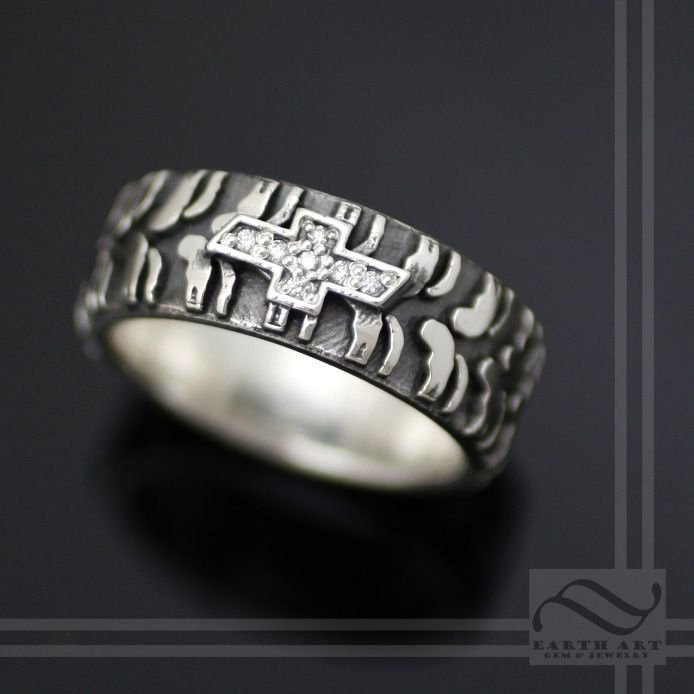 buy a handmade tire ring with logo made to order from