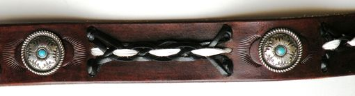 Handmade Applique Braid Belt By Rics Leather Custommade Com