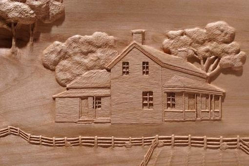 Custom Made My Little Town Custom Carving