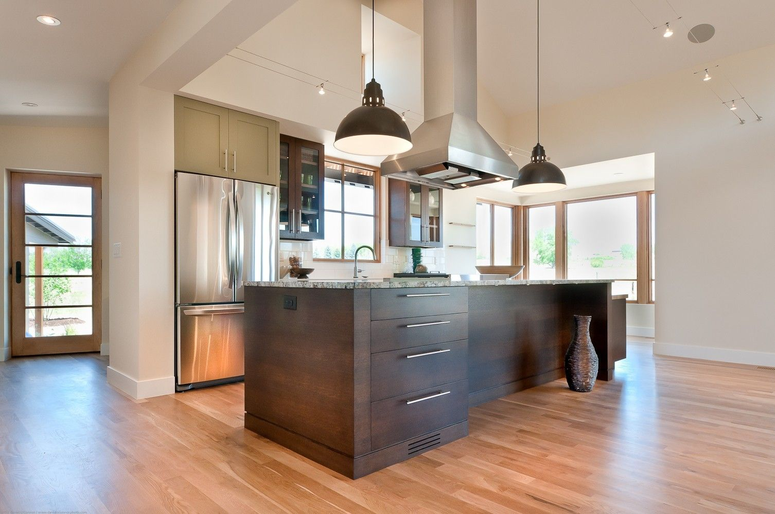 Custom Modern Farmhouse Kitchen by Marc Hunter Woodworking