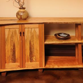 Hand Made Free Form Bench By Sterling Woodworking Custommade Com