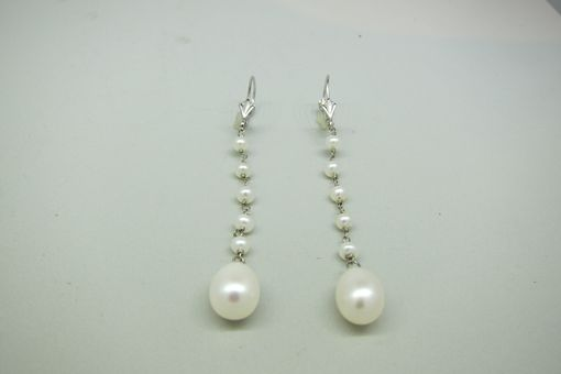 Custom Made Long Pearl Dangles