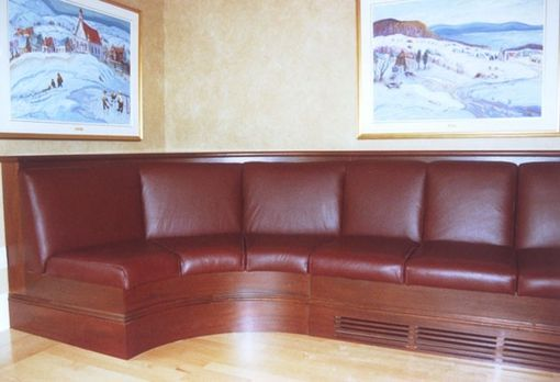 Custom Made Curved Banquette