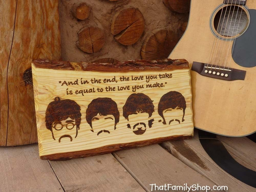 Custom Made Wood Burned Art Pyrography By That Family