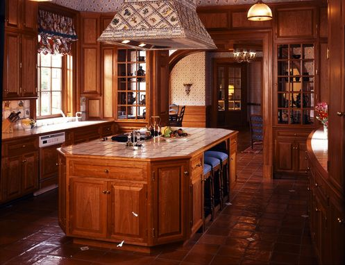 Custom Made Cherry Kitchen
