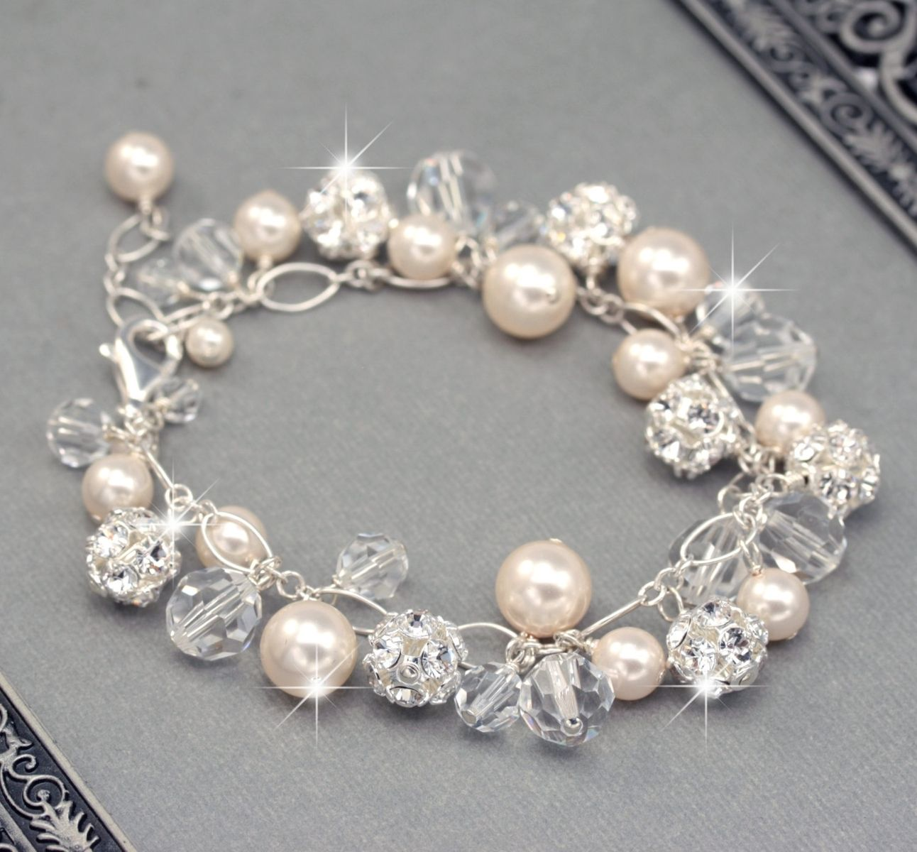Charms And Bracelets: Buy Hand Crafted Bridal Bracelet
