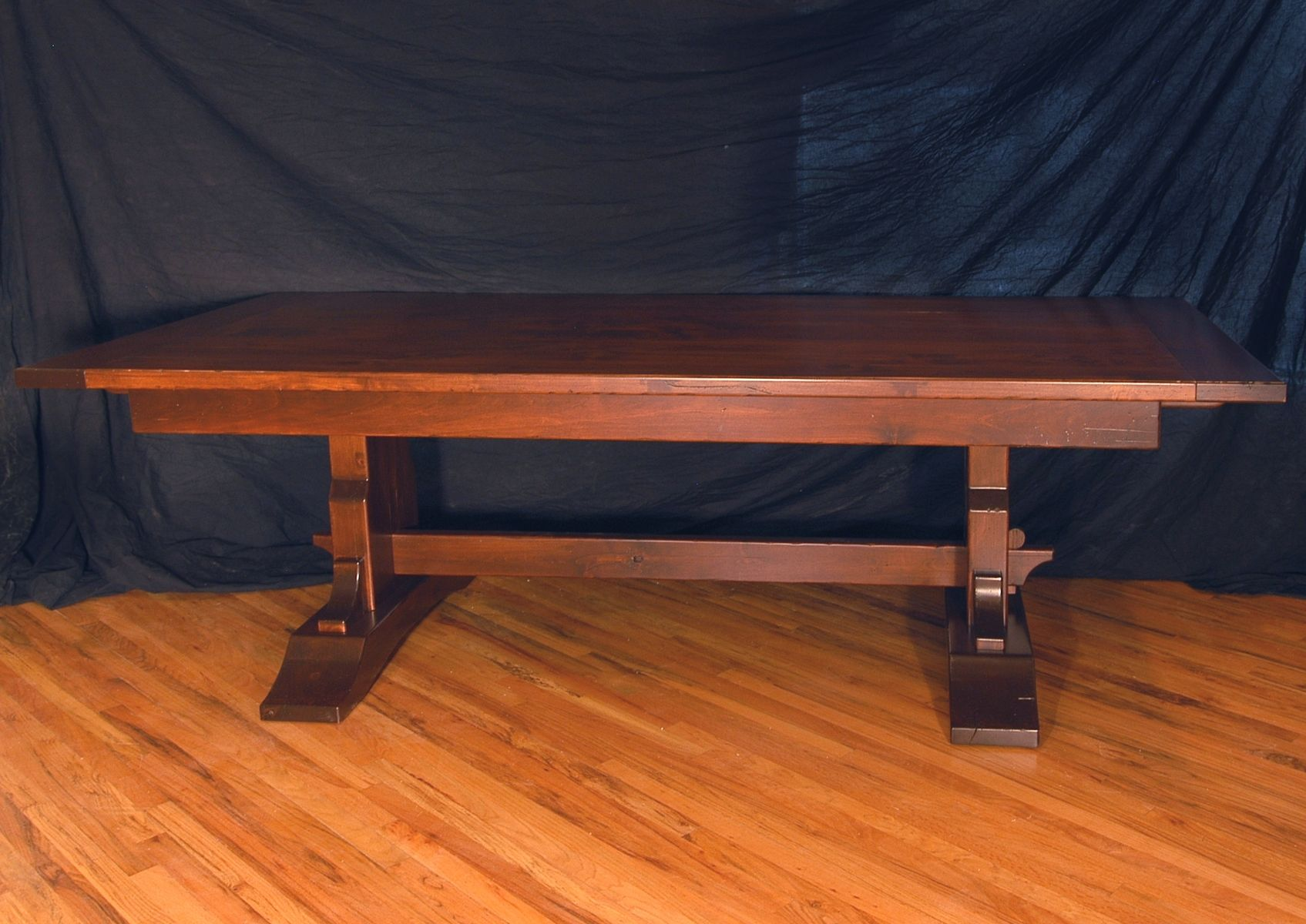 Custom Rustic Knotty Alder Dining Table By Terry S Fine