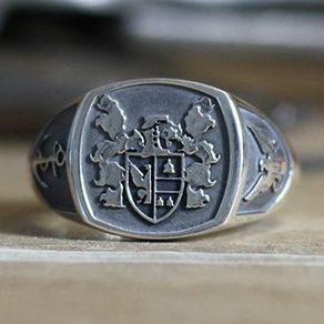 the most wedding rings coat of arms wedding rings