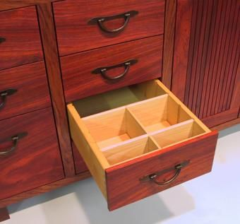 Custom Made Low Tansu Chest