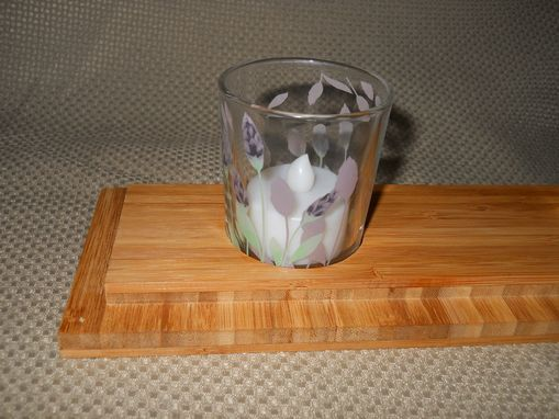 Custom Made Candle Centerpiece Gift Holder