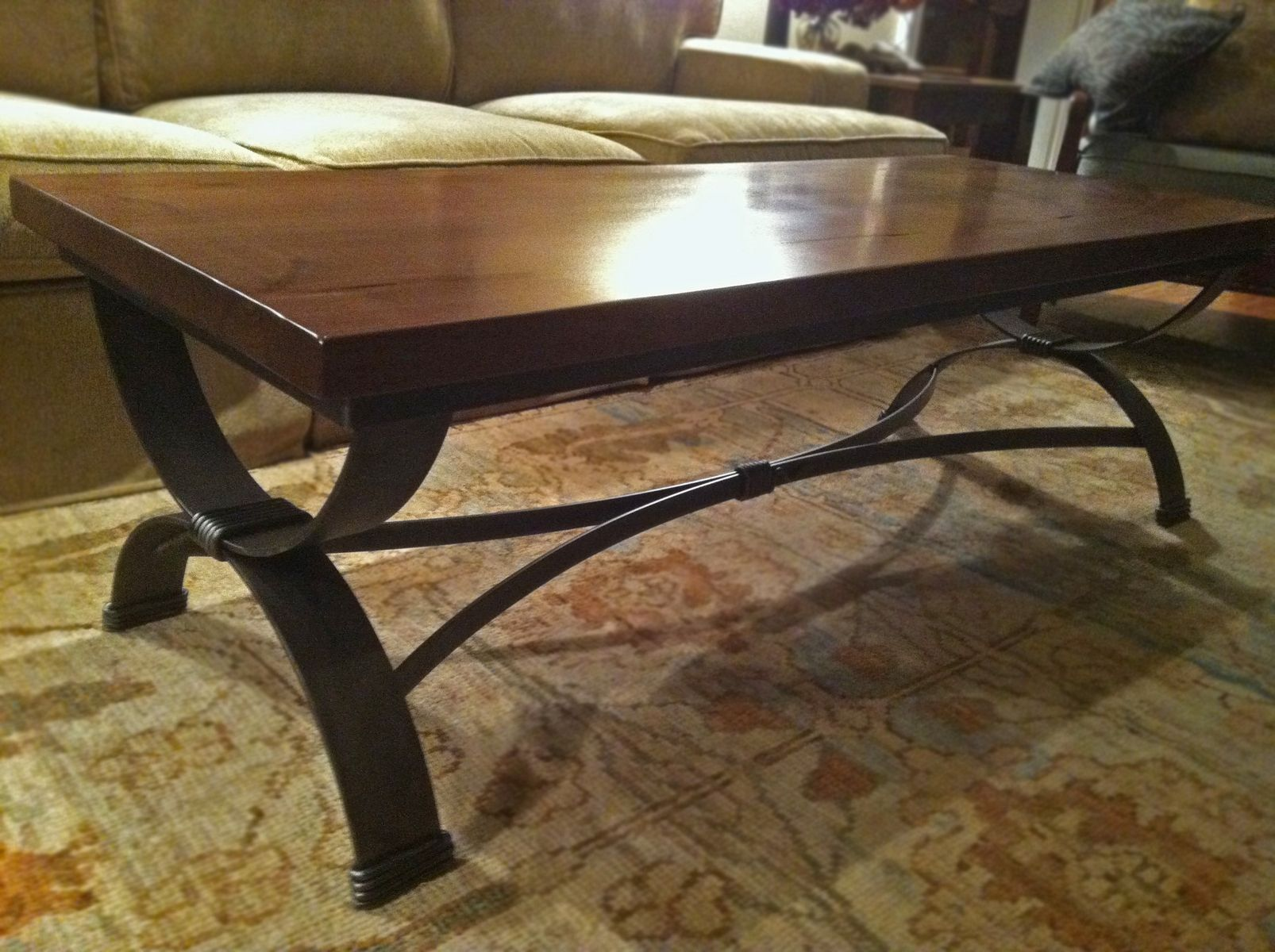 Custom Coffee Table End Table By Desiron Custom Metal