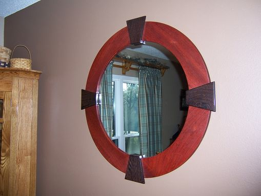 Hand Made Wall Mirror by Bungalow White Oak Furniture : CustomMade.com