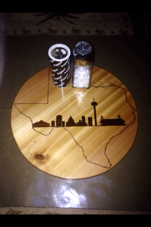 Custom Made Lazy Susan By Jazzcordion Designs Custommade Com