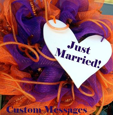 Custom Made Deco Mesh Outdoor Wreaths