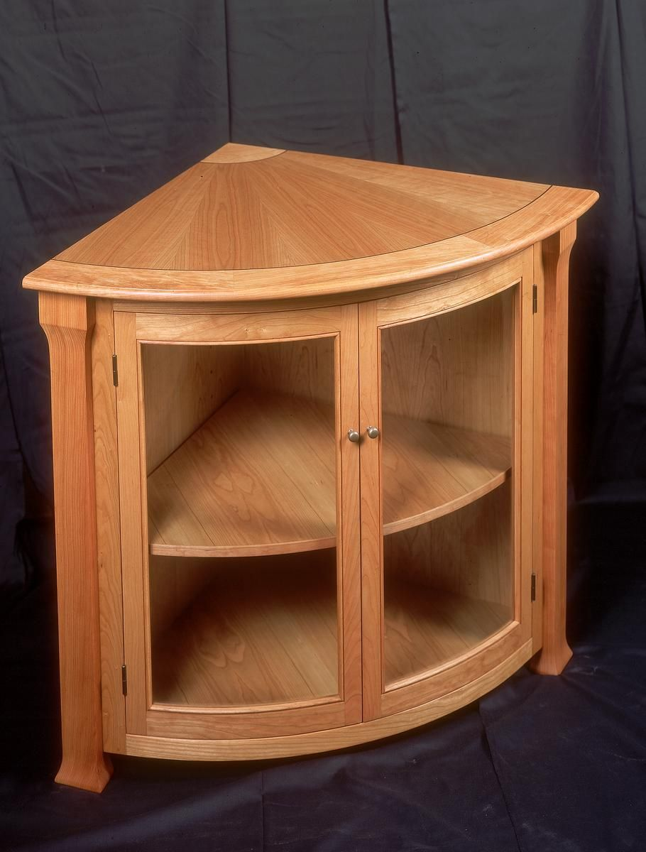 Custom Made Corner Cabinet By St John S Bridge Llc