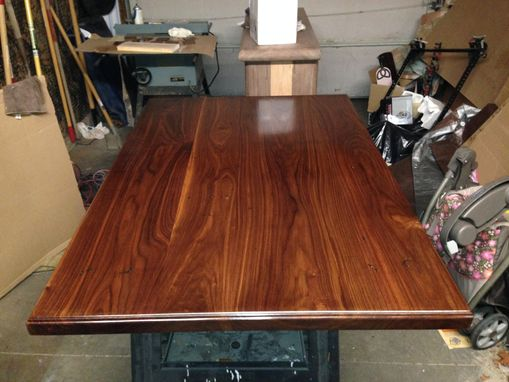 Custom Made Custom Distressed Walnut Top