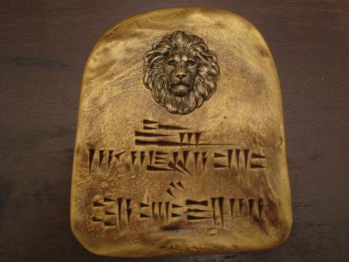 Custom Made King Hezekiah Tablet's.