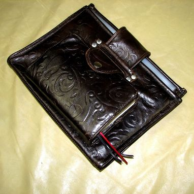Custom Made Leather Organizational Folder