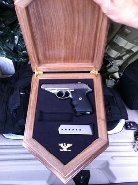 Custom Made Special Operations Group / Swat Gun Box