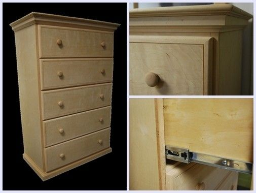 Custom Made Everyday Chest Of Drawers