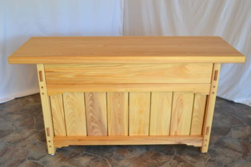 Custom Made Cypress Buffet With Cypress Top