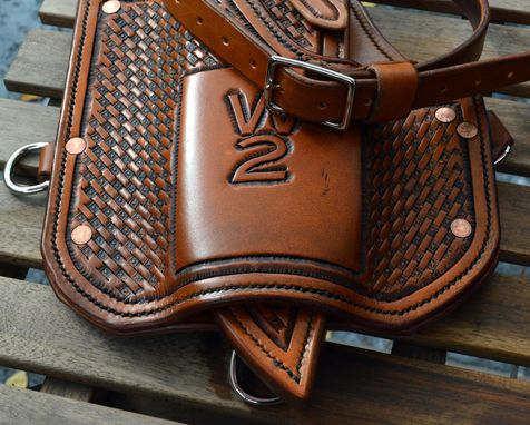 Custom Made Horse Saddle Frog Sheath
