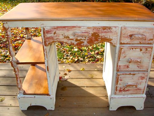 Custom Made Vintage Painted Desks