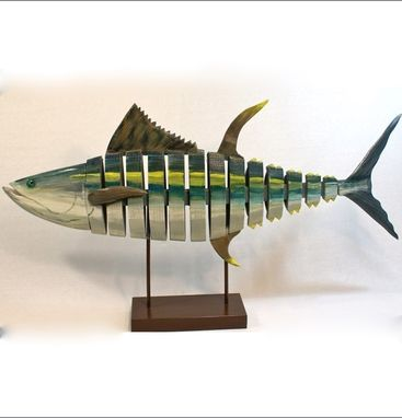 "Custom Made 4' Long X 2' High X 8"" Wide Yellow Fin Tuna"