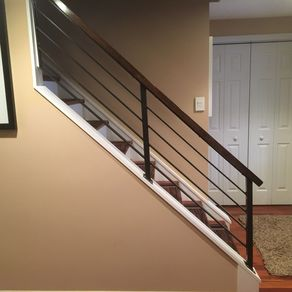 Horizontal Slat Railing By Kyle Harrity