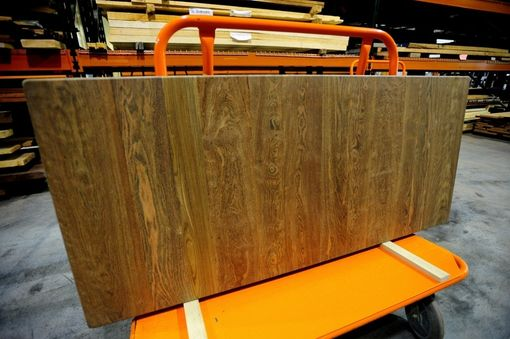 Custom Made Chechen Exotic Hardwood Counter Top