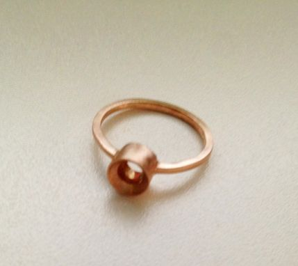 Custom Made Rose Gold Ring