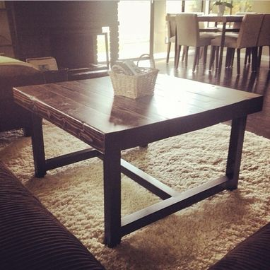 Custom Made Custom Reclaimed Dining, Coffee And End Tables