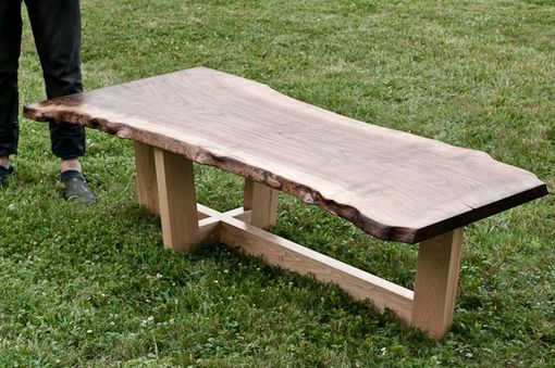 Custom Made Claro Slab Coffee Table