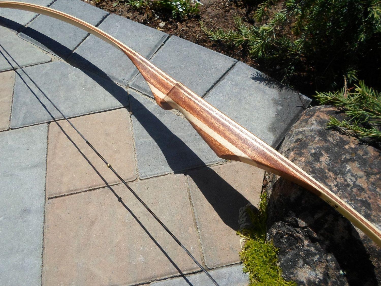Custom Youth Hickory Longbow 56