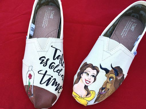 Custom Made Beauty And The Beast Toms - Tale As Old As Time