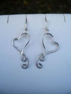 Custom Made Heart Earrings