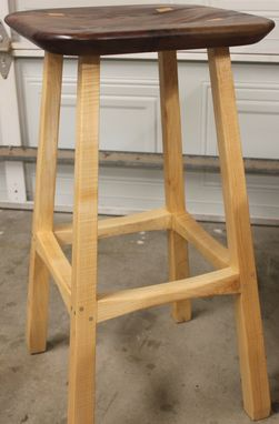 Custom Made Modern Bar Stool