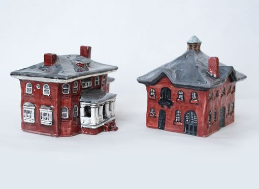 Custom Made House Salt And Pepper Shakers