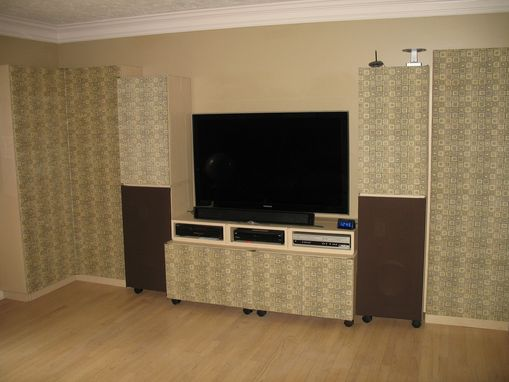 Custom Made Library/Entertainment Center